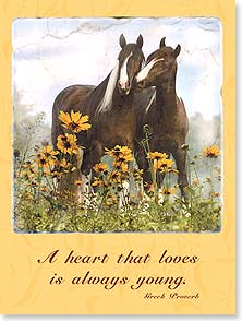 Anniversary Card - A Heart That Loves | Mark J. Barrett | 13784 | Leanin' Tree