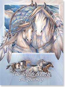 Birthday Card - The Dream Creates the Journey | Jody Bergsma | 13789 | Leanin' Tree
