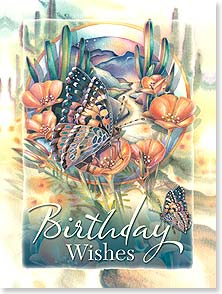 Birthday Card - Little Miracles and Lots of Love | Jody Bergsma | 13790 | Leanin' Tree