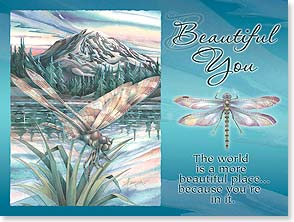 Birthday Card - Staff Pick - Beautiful You | Jody Bergsma | 13791 | Leanin' Tree