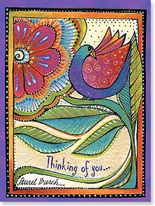 Thinking of You Card - Your Little Corner of the World - 13800 | Leanin' Tree