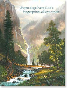 Birthday Card - Staff Pick - A Day Made Just for You | Mark Keathley | 13805 | Leanin' Tree