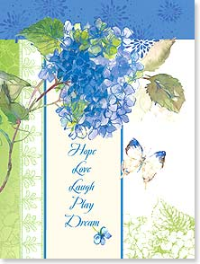 Encouragement & Support Card - Dream and Play | Gail Flores | 13865 | Leanin' Tree