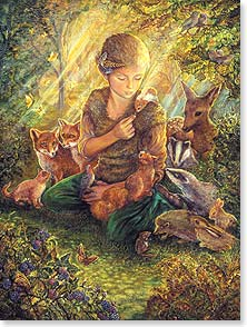 Birthday Card - Staff Pick - Forest Friends | Josephine Wall | 13877 | Leanin' Tree