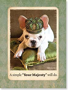 Birthday Card - Staff Pick - Your Majesty | Lisa Jane | 13904 | Leanin' Tree