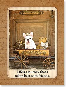 Friendship Card - Life's a Journey | Lisa Jane | 13909 | Leanin' Tree