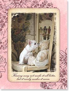 Encouragement & Support Card - A Kiss to Make It All Better | Lisa Jane | 13911 | Leanin' Tree