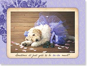 Encouragement &amp; Support Card - It's Tu-Tu Much! | Lisa Jane | 13912 | Leanin' Tree