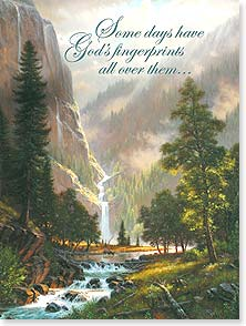 Birthday Card - God made today for you; Psalm 134:4 | Mark Keathley | 13971 | Leanin' Tree