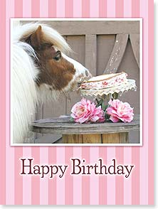 Birthday Card - Sharing is optional. Fun is mandatory! | Alice Williams | 13996 | Leanin' Tree