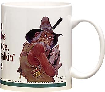 Ceramic Mug - My Attitude | Mike Scovel | 141 | Leanin' Tree