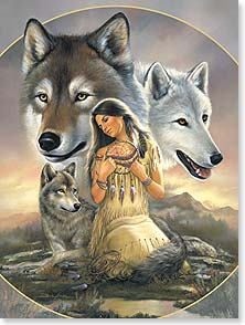 Birthday Card - Native American | Birthday Wishes For A Beautiful Spirit | Russ Docken | 15317 | Leanin' Tree