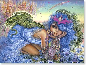 Birthday Card - To someone who charms the world with her own special magic. | Josephine Wall | 15454 | Leanin' Tree