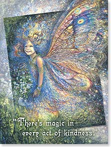 Thank You & Appreciation Card - There's magic in every act of kindness. | Josephine Wall | 15457 | Leanin' Tree