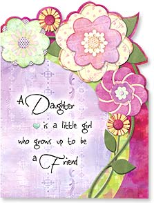 Birthday Card - Daughter - To a special daughter. | Connie Haley | 15461 | Leanin' Tree