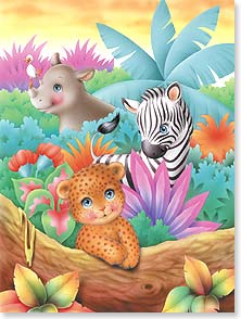 Birthday Card - Happy Birthday Wild Thing | Interlitho Designs | 15520 | Leanin' Tree