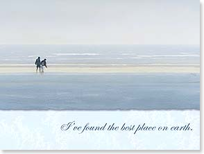 Anniversary Card - Romantic | For Spouse - Best Place on Earth -15579 | Mark Von Crombrugge | 15579 | Leanin' Tree