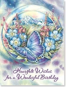 Birthday Card - Staff Pick - Birthday Wishes | May Your Dreams Find Wings | Jody Bergsma | 15615 | Leanin' Tree