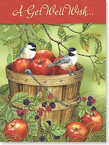Get Well Card - Bushels of T.L.C  | Jane Maday | 15650 | Leanin' Tree