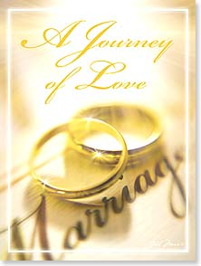Wedding Card - A Journey Of Love | Gail Marie® | 15657 | Leanin' Tree
