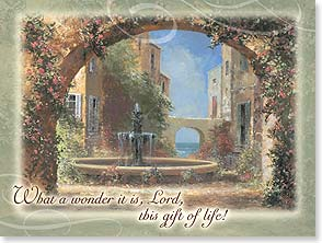Birthday Card - Scripture | The Lord's Blessing on Your Birthday - 15693 | Leanin' Tree