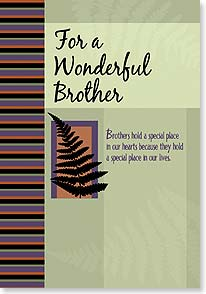 Birthday Card - Brothers For Life | LT Studio | 16438 | Leanin' Tree