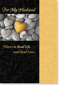 Anniversary Card - Real Life & Real Love | Fotosearch | 16440 | Leanin' Tree