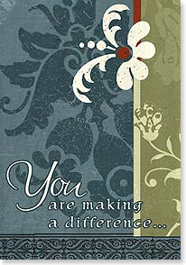 Pastor / Priest Appreciation Card - Making a Difference | ARTLY | 16472 | Leanin' Tree