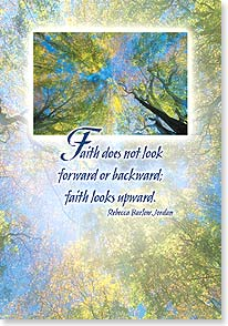 Encouragement & Support Card - Faith Looks Upwards | Getty Images | 16475 | Leanin' Tree