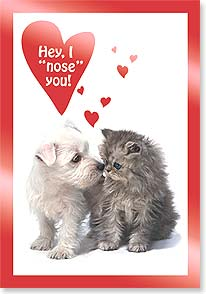 Valentine's Day Card - I 'nose' You! - 16541 | Leanin' Tree