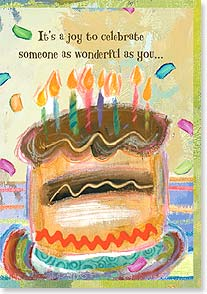 Birthday Card - Celebrate! - 16590 | Leanin' Tree