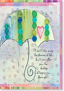 Encouragement Card - Staff Pick - Storms of Life | Marianne Richmond | 16591 | Leanin' Tree