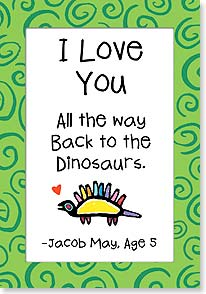 Birthday Card - Dino Love | Kate Harper | 16621 | Leanin' Tree
