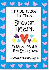 Break Up or Divorce Card - How to Fix a Broken Heart | Kate Harper | 16622 | Leanin' Tree