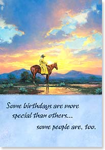 Birthday Card - Sun Burn | Jack Sorenson | 16670 | Leanin' Tree