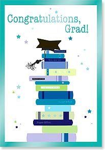 Graduation Card - Graduation Stack | Hilary Yafai | 16688 | Leanin' Tree