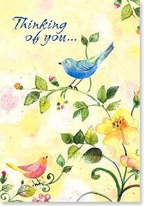 Thinking of You Card - Thinking of You | Sue Zipkin | 16719 | Leanin' Tree