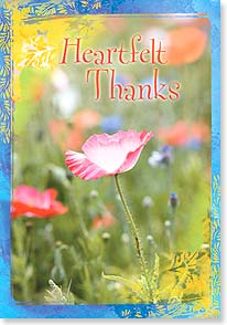 Thank You & Appreciation Card - Heartfelt Thanks - 16733 | Leanin' Tree