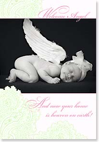 Baby Congratulations Card - Congratulations to the Proud Parents | Tanya Hovey | 16735 | Leanin' Tree