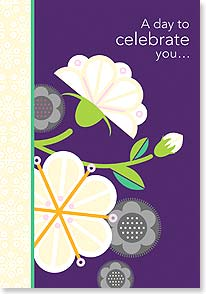 Birthday Card - A Day to Celebrate You! - 16737 | Leanin' Tree