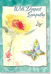 Sympathy Card - Comfort in the Memories | Susan Winget | 16749 | Leanin' Tree
