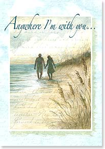 Anniversary Card - Anywhere with you is paradise to me | Susan Winget | 16776 | Leanin' Tree