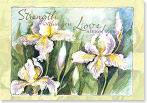 Sympathy Card - Wishing you all things to bring you comfort. | Susan Winget | 16783 | Leanin' Tree