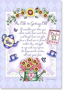 Birthday Card - He renews your youth; Psalm 103:5  | Barbara Ann Kenney | 16793 | Leanin' Tree