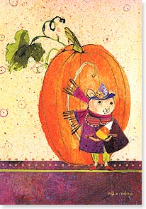 Halloween Card - happy halloween  | Robbin Rawlings | 16806 | Leanin' Tree