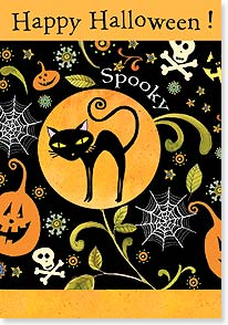 Halloween Card - May your tricks be fun and sweet!  | Sue Zipkin | 16808 | Leanin' Tree
