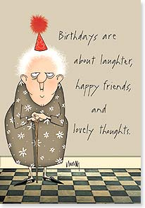 Birthday Card - I hate all that crap. | Leslie Moak Murray | 16914 | Leanin' Tree