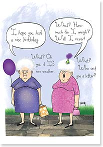 Birthday Card - Friend - It's nice when friends understand each other. | Leslie Moak Murray | 16932 | Leanin' Tree