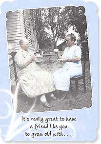 Birthday Card - ...but you go first! Psalm 128:5 | Maggie Mae Sharp | 16942 | Leanin' Tree