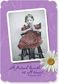 Friendship Card - Loveth ya. | Maggie Mae Sharp | 16952 | Leanin' Tree
